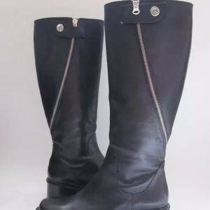 Elizabeth & James Heidi Fashion Knee Boots Black